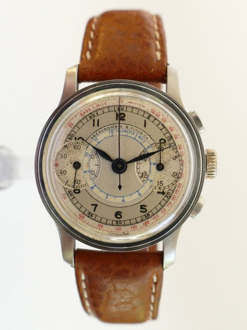 Abercrombie & Fitch 1941 Vintage Chronograph