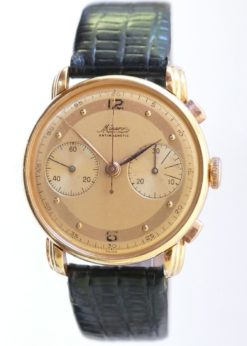 Minerva Gold Chronograph