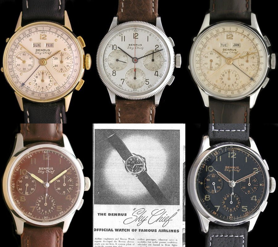 Benrus Sky Chief Watches