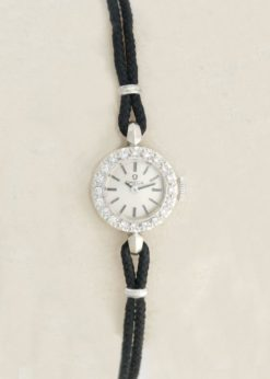 Omega Vintage Diamond Cocktail Dress Watch
