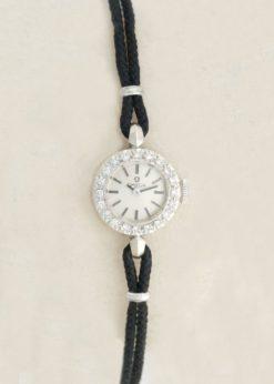 Omega Vintage Diamond Cocktail Dress Watch