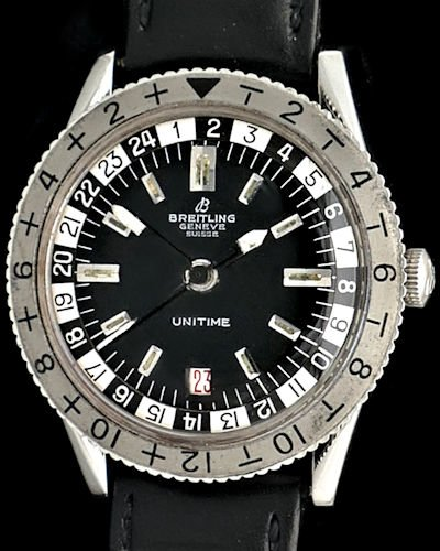 Breitling Unitime 2610 Vintage Watch