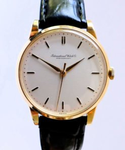 Vintage IWC Solid Gold Men's Dress Watch