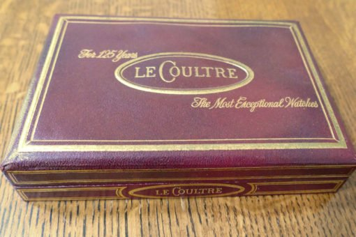 LeCoultre Vintage Watch Box