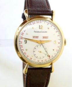 LeCoultre 18K Triple Date Men's Watch
