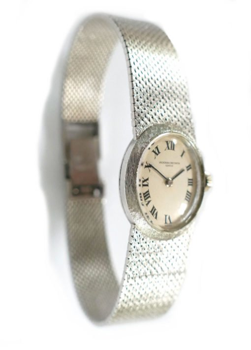 Vacheron & Constantin 18K Gold Ladies Mesh Bracelet Watch