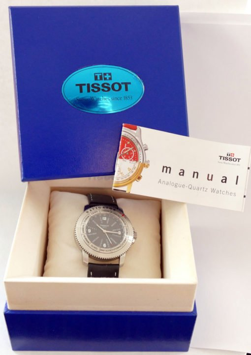 Tissot Navigator with Box and Papers
