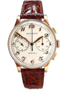 Movado Vintage Chronograph