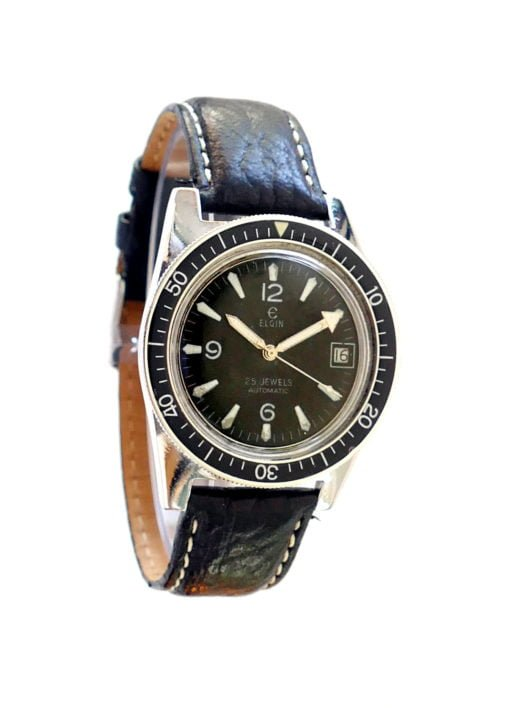 Elgin Vintage Dive Watch