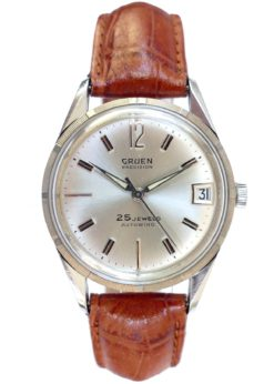 Gruen Precision 25 Jewel Automatic Vintage Watch