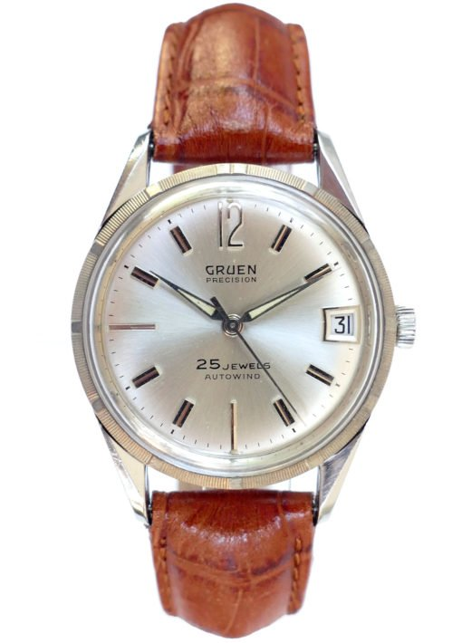 Gruen Precision 25 Jewel Automatic Vintage Watch