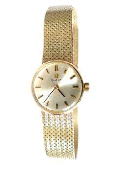 Circa 1968 Vintage Ladies Omega Gold Watch