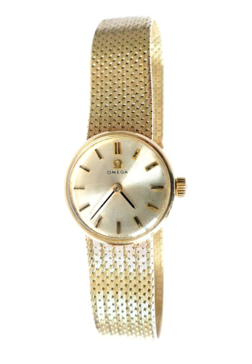 Circa 1968 Vintage Ladies Omega Gold Watch