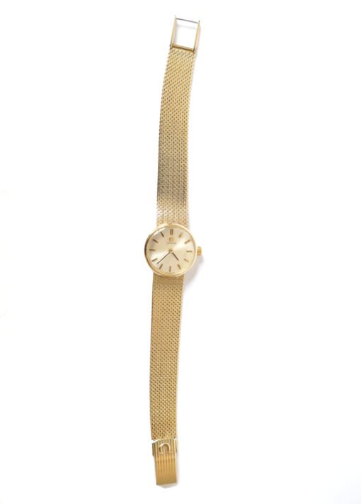 Ladies Omega vintage gold watch