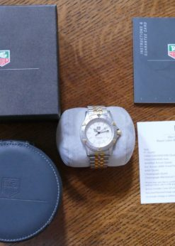 TAG Heuer 1500 WD1221-K-20 Box and Papers