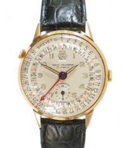 Brevet Multi-Calendar Triple Date Vintage Watch
