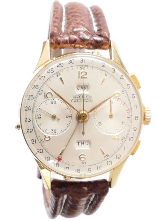 Angelus Chronodato Mint Authentic Vintage Watch