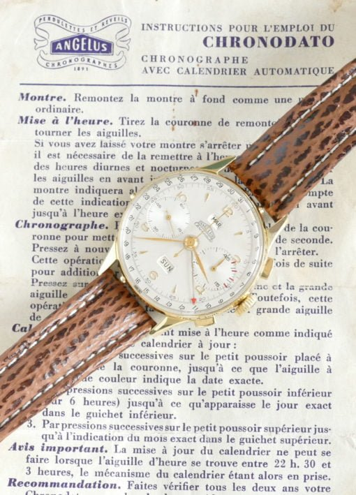 Angelus Chronodato with Papers