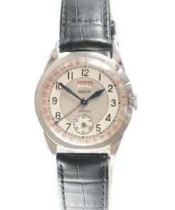 Ghiso Branded LeCoultre Day Date Watch
