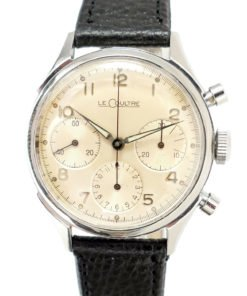 LeCoultre Stainless Steel Chronograph Watch