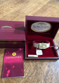 LNIB Vintage Longines Gold Medal Watch