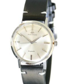 Movado Kingmatic 1285 steel Dress Watch