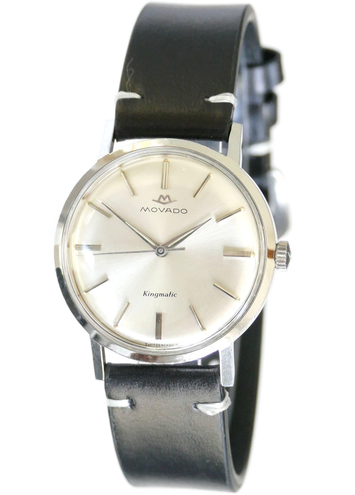 Movado Kingmatic S watch movement cal.388 Running. - YouTube