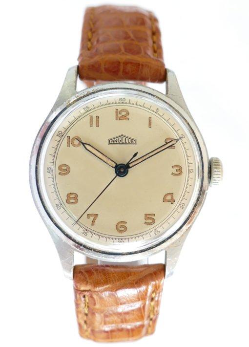 Angelus Vintage Watch with Radium Dial