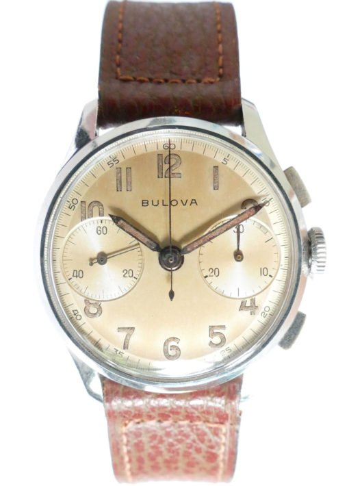 Bulova Vintage Chronograph Watch