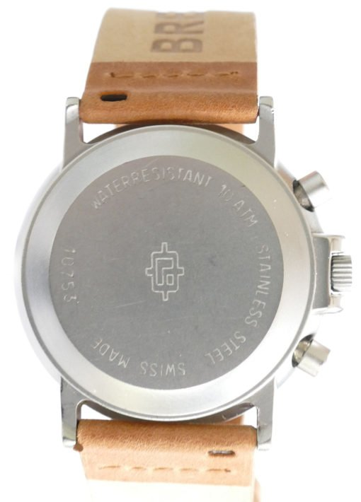 Sand Blasted Stainless Steel Case