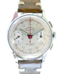 Alsta Alstater NOS New Old Stock Vintage Chronograph Watch