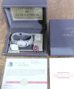 Longines Ultra-Chron Box and Papers