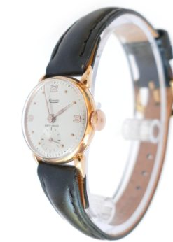 solid gold vintage watch