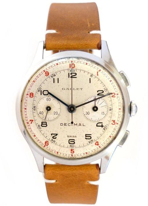 Gallet Decimal Chronograph