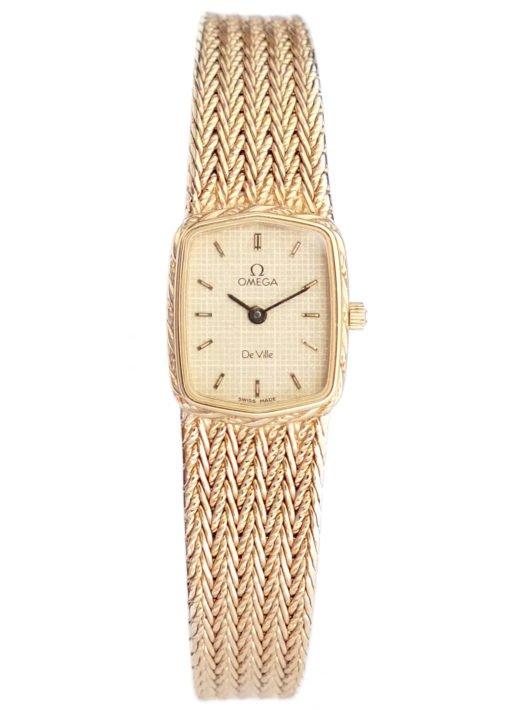 Omega DeVille Mint Ladies Watch