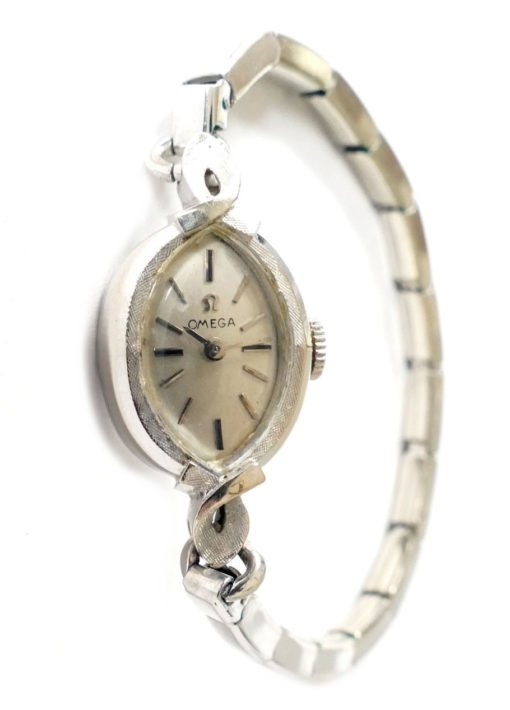 omega 14k gold vintage ladies watch