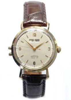 Angelus Dato 12 Solid Gold Dress Watch