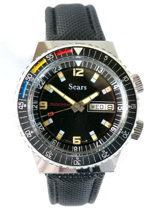 Sears Sicura Automatic Dive Watch