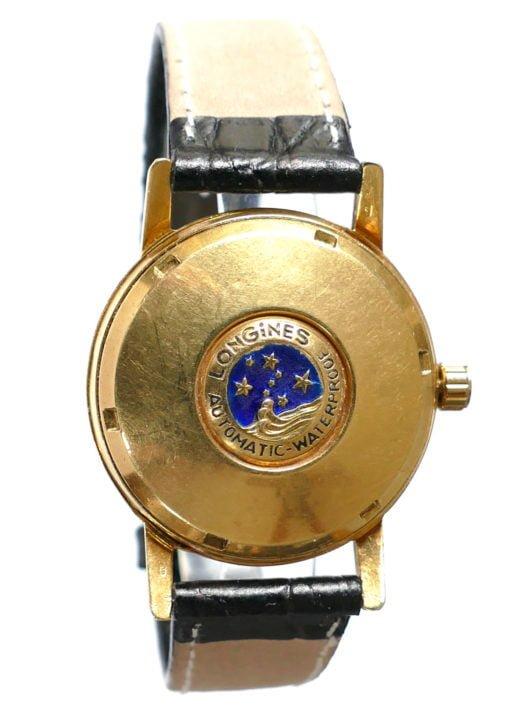 Longines Conquest Blue Logo