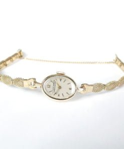 Ulysse Nardin Vintage Ladies Solid Gold Dress Watch
