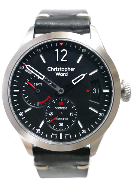 Christopher Ward C8 Power Reserve C08-44HPR1-S00K1-TC