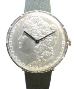 1888 Liberty Silver Dollar Coin Watch