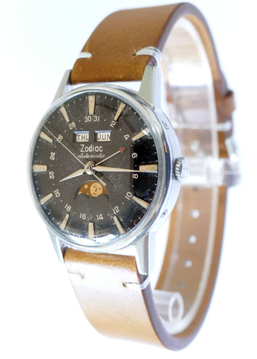 Zodiac Vintage Moonphase Watch