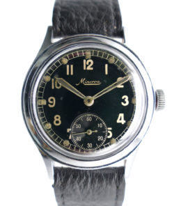 Minerva DH German WWII Military Watch