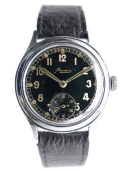 Minerva DH German WWII Military Watch