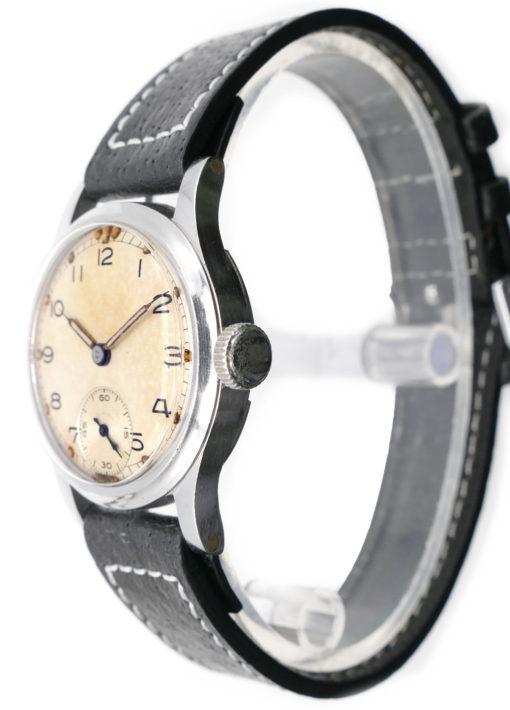 Bravingtons World War II Vintage ATP British Military Watch
