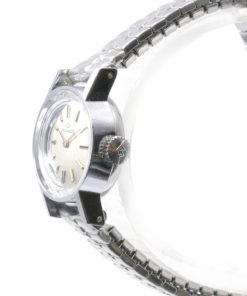Movado Vintage Ladies Dress Watch Logo Crown