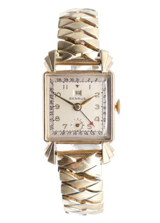 Vintage Benrus Date Hand Watch