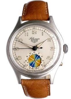 Heuer Solunar Vintage Tidal Watch