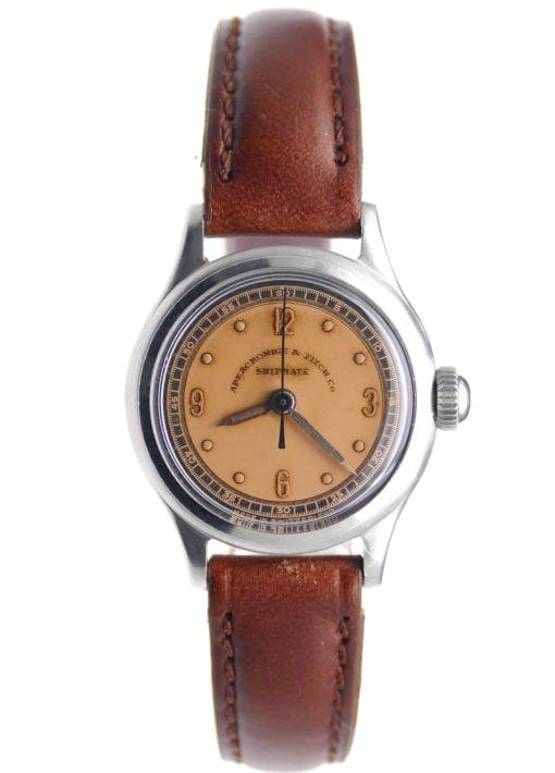 Abercrombie & Fitch Shipmate Ladies Steel Vintage Watch